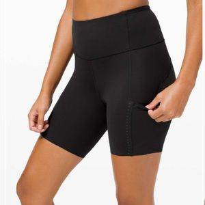 "Lululemon Fast and Free High Rise Short 6"" Elite"